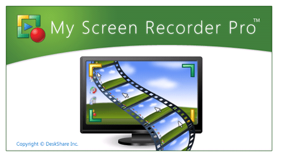 My Screen Recorder Pro 5.16 Key For Crack Latest Version 2019