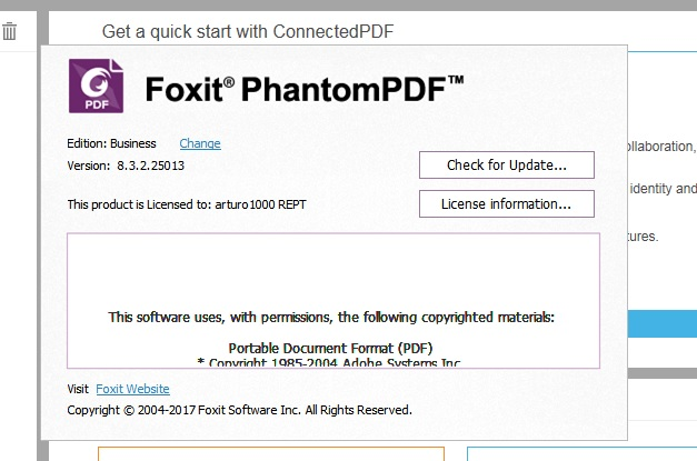 foxit phantompdf standard activation key free