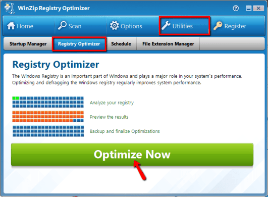 WinZip Registry Optimizer 4.20.1.8 Crack & Serial Key (2019) Update
